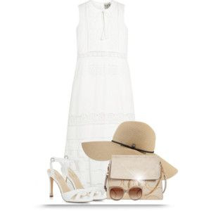 White Dress for Spring or Summer (OUTFIT ONLY!)