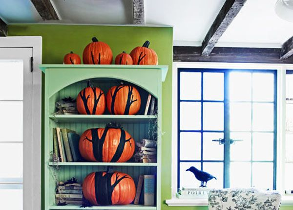 A new way to display your pumpkins! DIY Holiday Decor Pinterest
