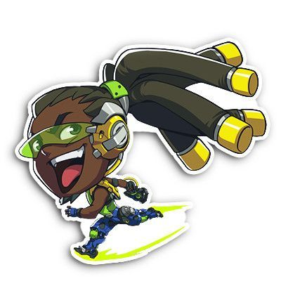 Enjoy this 4 5 tall spray of your favorite overwatch character in sticker
