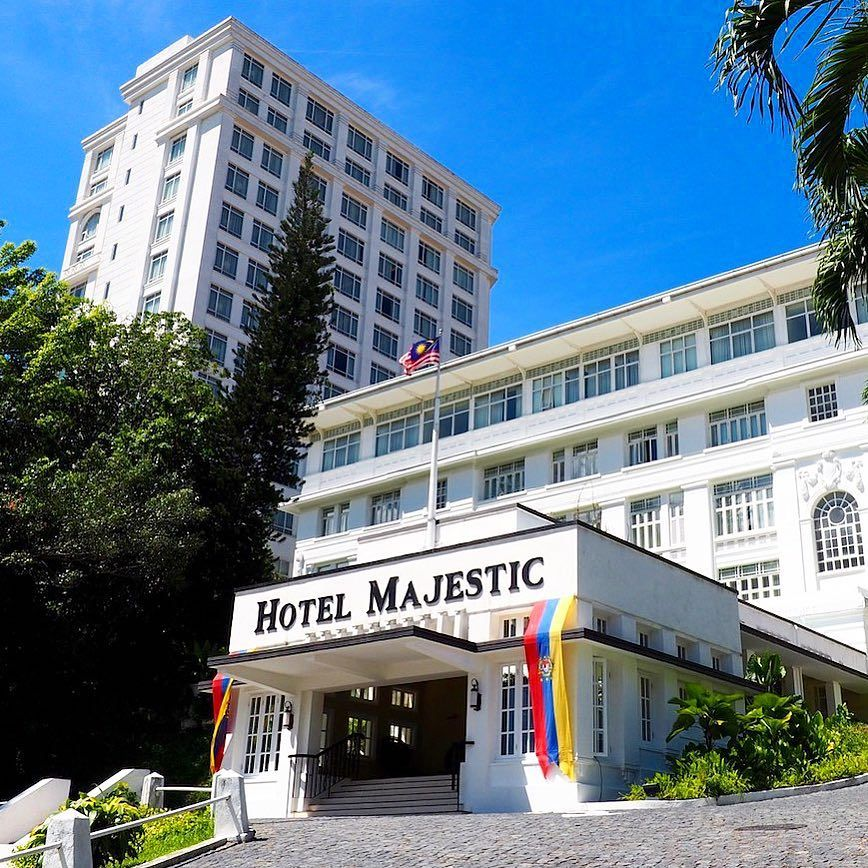 Arriving At The Fabulous Majestic Hotel Kuala Lumpur Malaysia See Link In Bio For Our Review And More Info This Is Definitely The Only Place To Stay In Kl Re