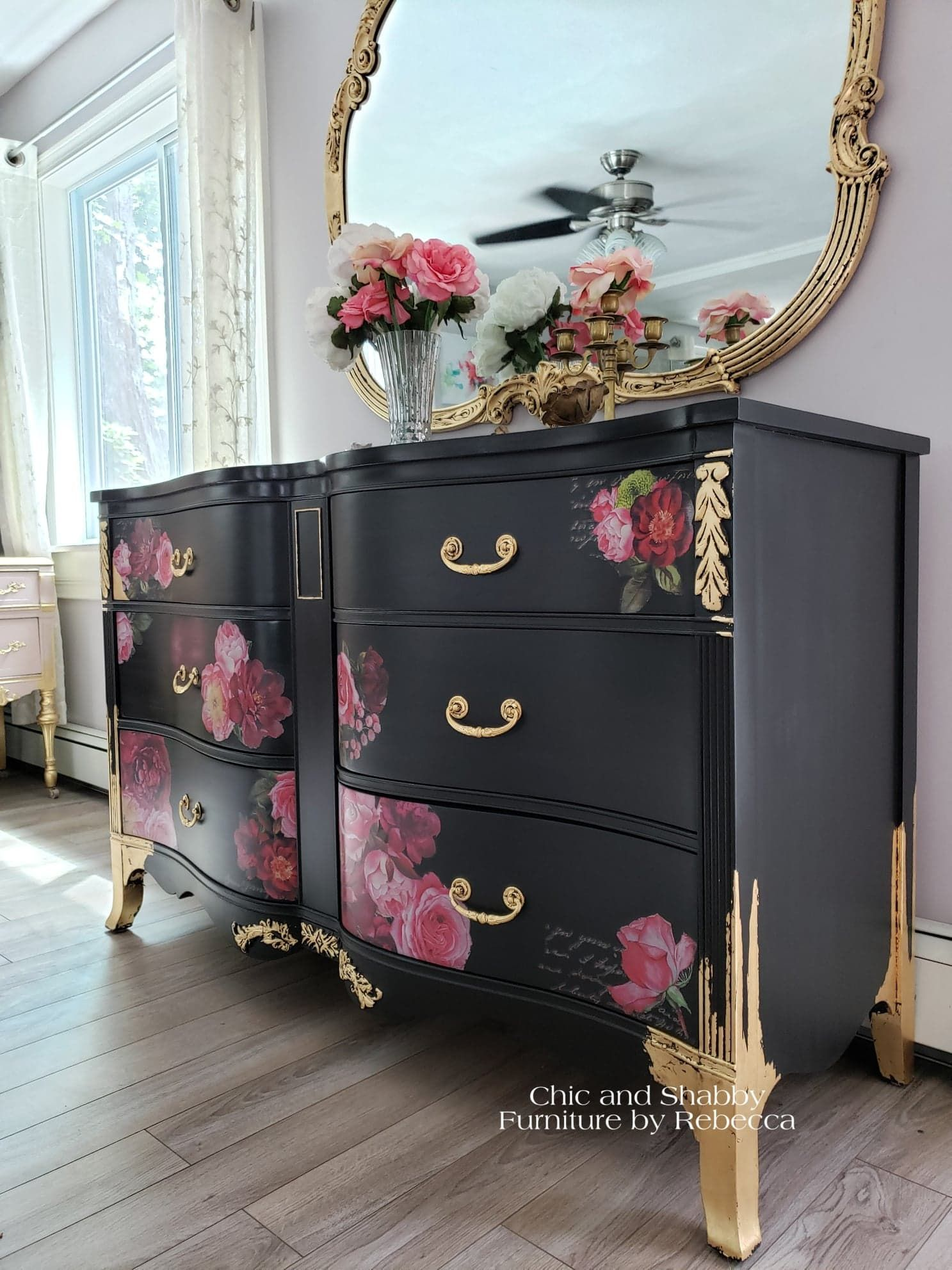 I Went With A Romantic Look For This Dresser Hope You Like Her