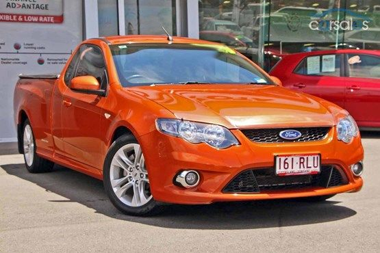 2010 Ford Falcon Ute Fg Xr6 Sports Automatic Ford Falcon Aussie