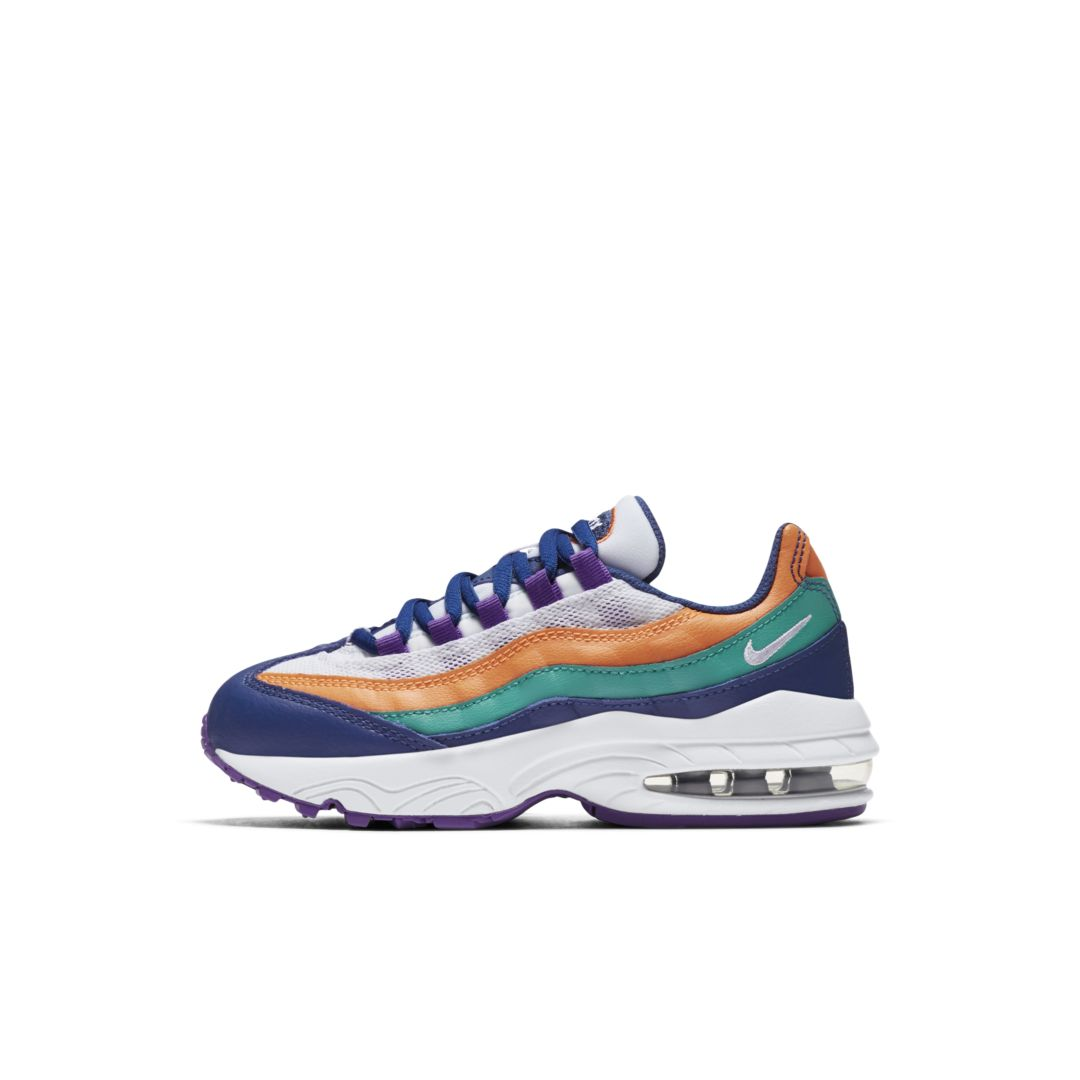 Nike Air Max 95 Little Kids  Shoe Size 10.5C (Gym Blue)  6d287aef9