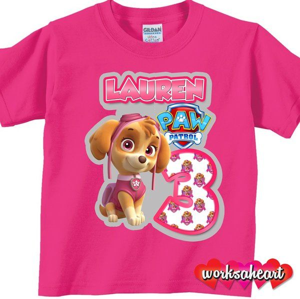 Paw Patrol Seal Paws Toddlers Boys T-Shirt