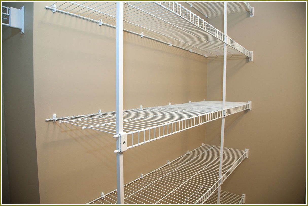 Wire Shelving For Closets (With images) | Wire closet ...