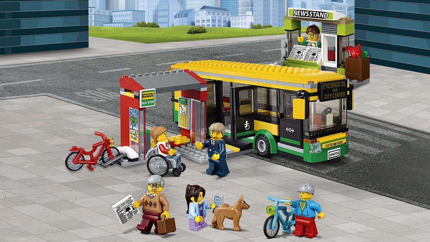 LEGO City Bus Station 2017 60154