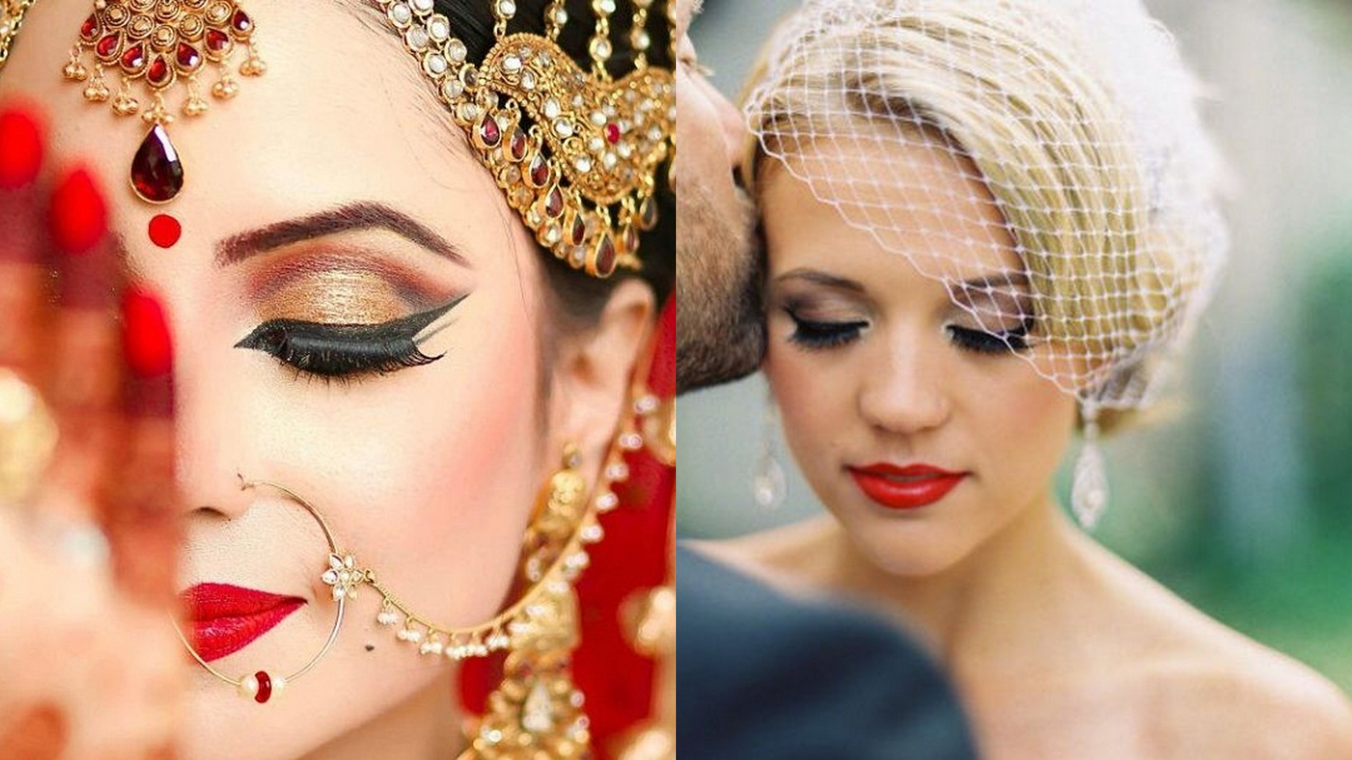different bridal makeup styles for the year 2014