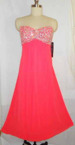 b3a27695197 Plus Size Dress Neon Coral Quince Formal Evening Gown Torrid Gift 20W