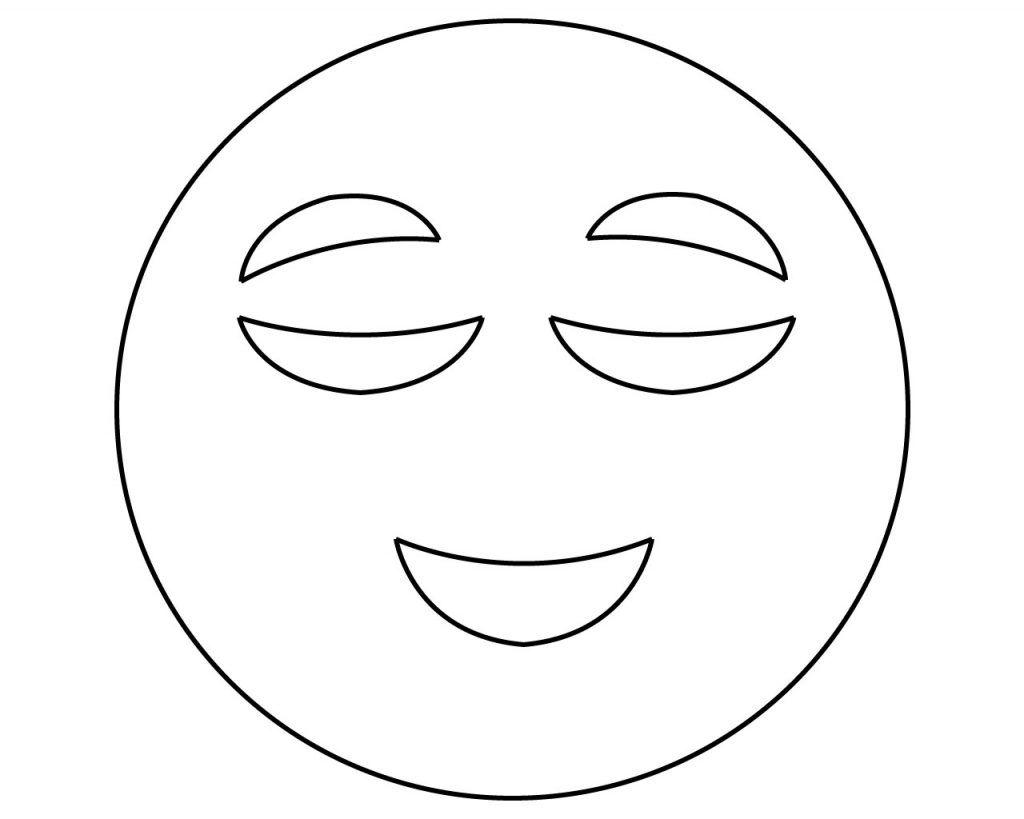 Emoji Coloring Pages Free Printable Emoji Coloring Pages