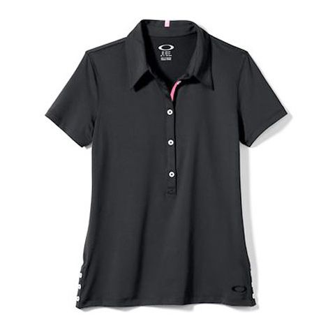 Oakley Ladies Solid Punch Shot Polo Shirts (#531846)