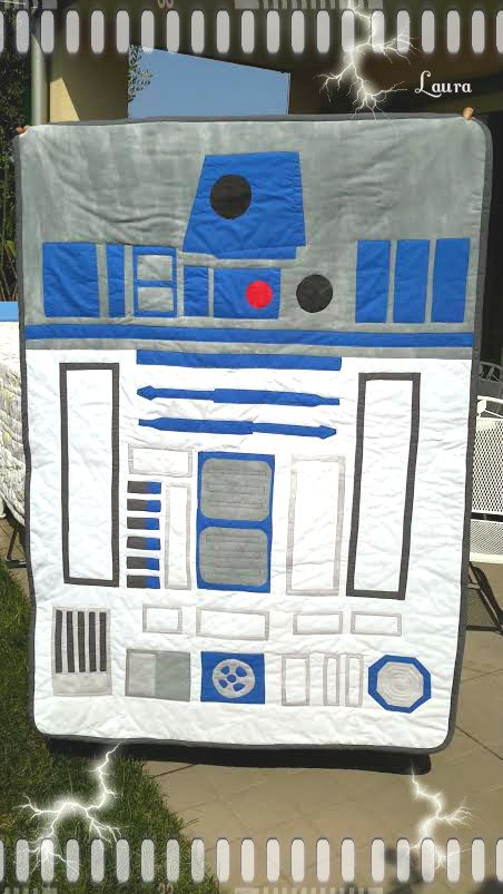 Coperta R2-D2 make my sister
