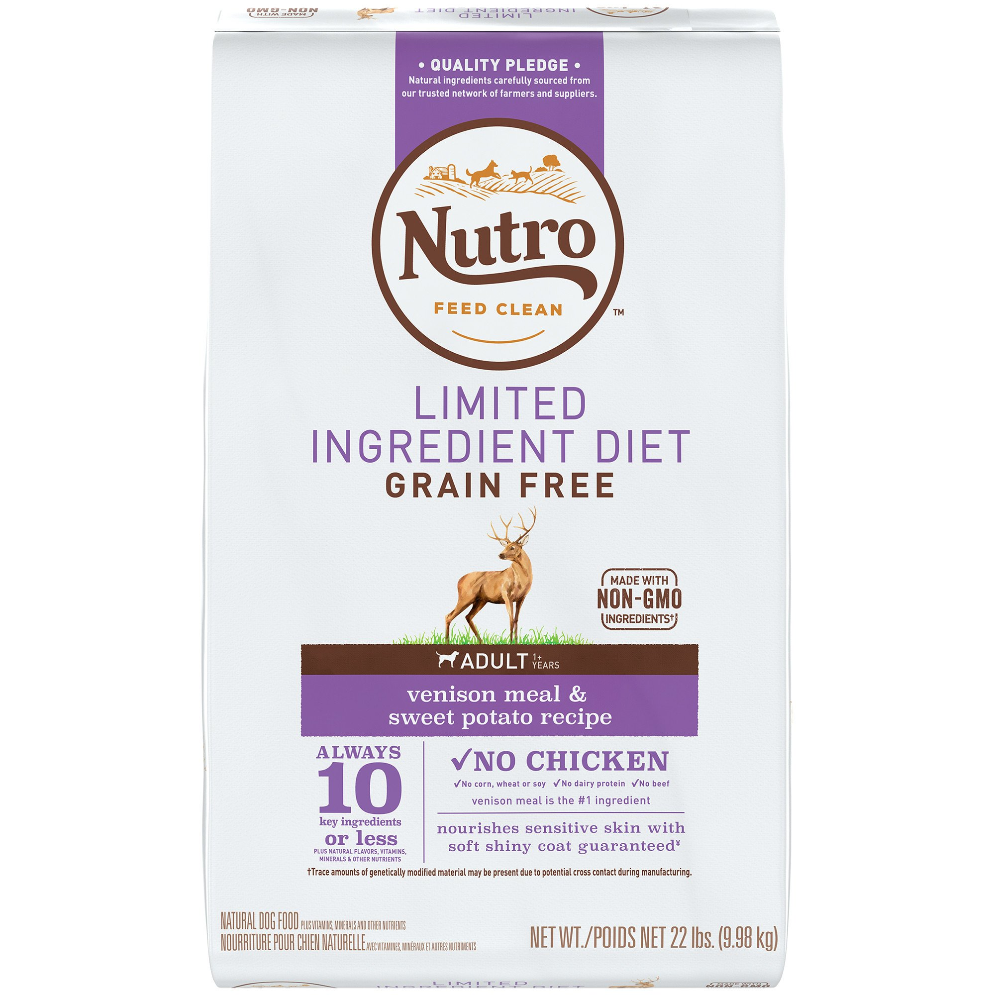 Nutro Limited Ingredient Diet Venison Meal Sweet Potato Recipe