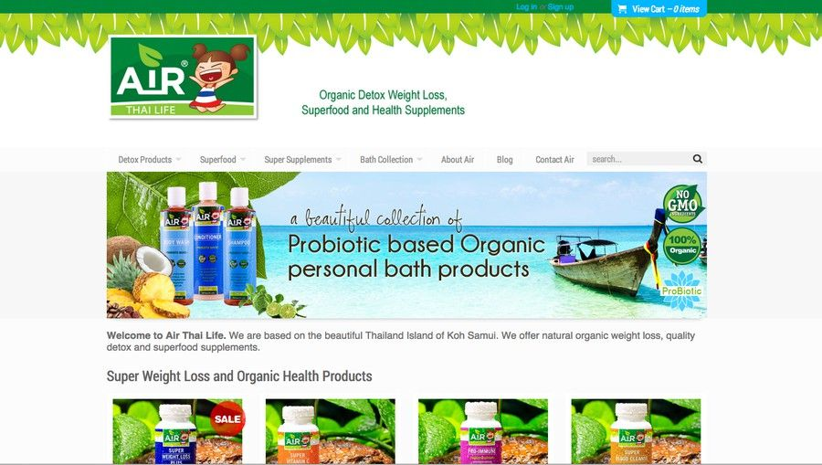 THAI HERB COMPANY NEEDS NEW BANNERS by BigbasDesigns
