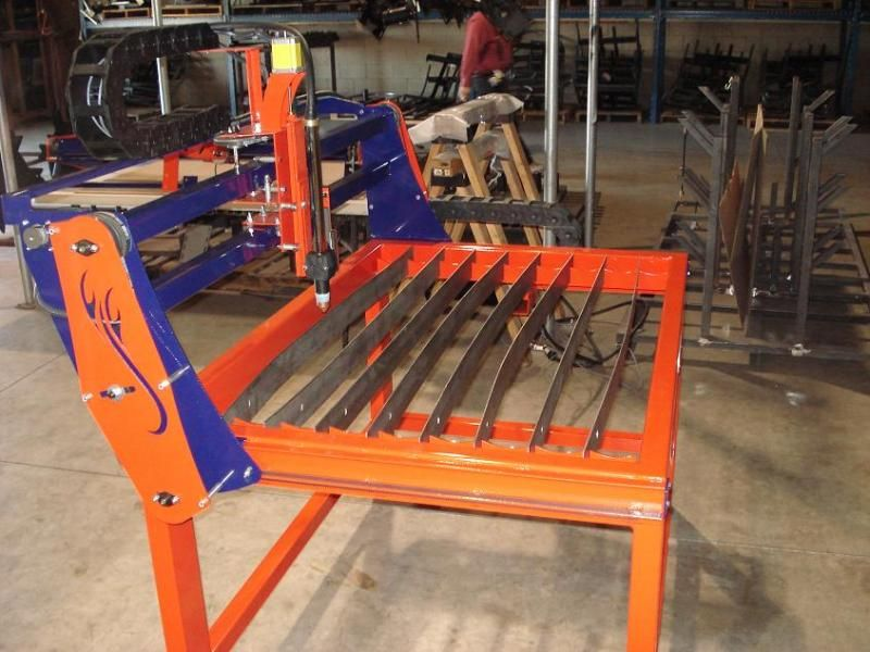 Cnc Plasma Router Table From Burntables