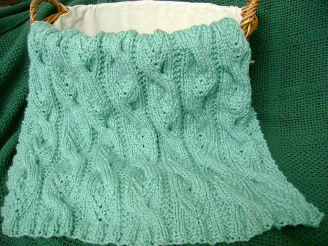 Free Afghan Knitting Pattern: \