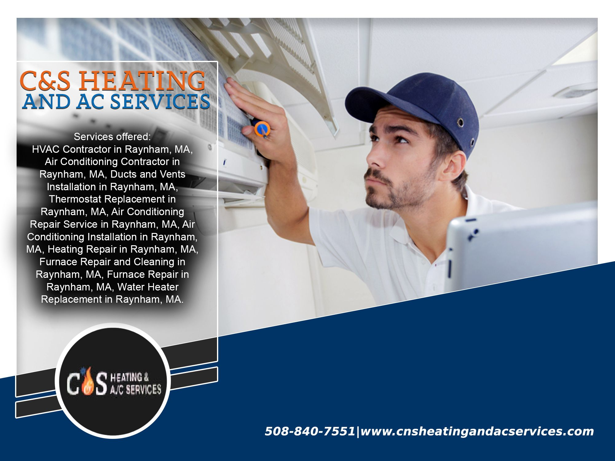 At C&S Heating and AC Services, we uphold high standards