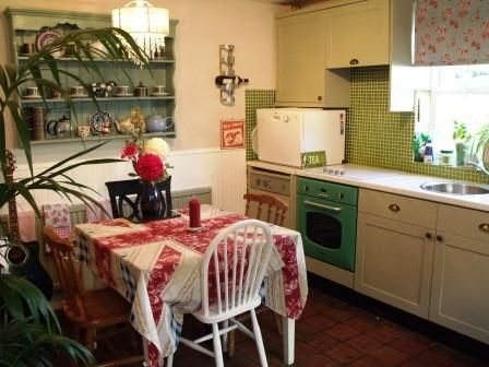 Small Cottage Kitchen Makeovers | ... Our Kitchen And Come Up With A Pretty  · Small Cottage KitchenCottage Style KitchensCottage BathroomsVintage  Interior ...