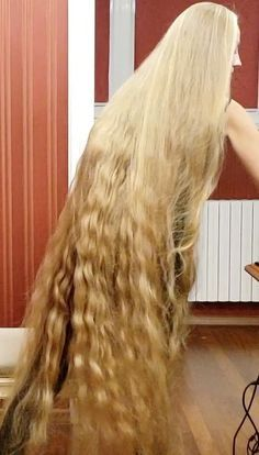 Video Alena Perfect Long Hair In 2019 Long Face