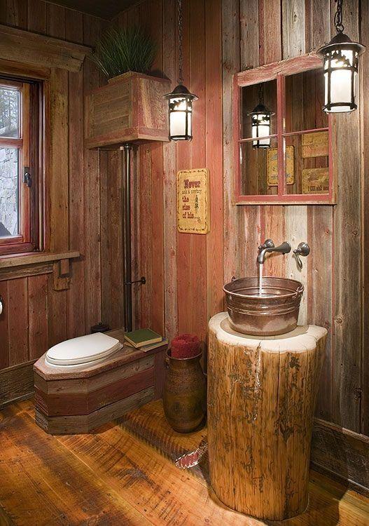 23 Easy Country Bathroom Rustic Farmhouse Decor Ideas ...