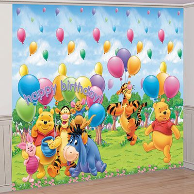 Winnie the Pooh Giant Decorating Kit 1st Birthday Birthday Party