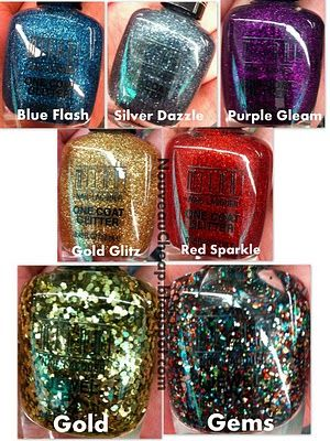 Milani glitter collection