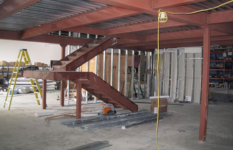Best Custom Structural Steel Staircase Metal Building Home 400 x 300
