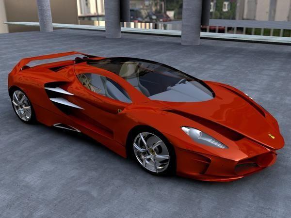 2014 Ferrari   Futuristic Car, Future Car, Concept Car, Sportscar, Supercar  By Debbie