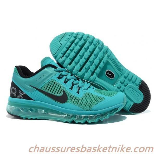 Nike Air Max 2013 Atomic Vert Noir Chaussures Hommes | Nike