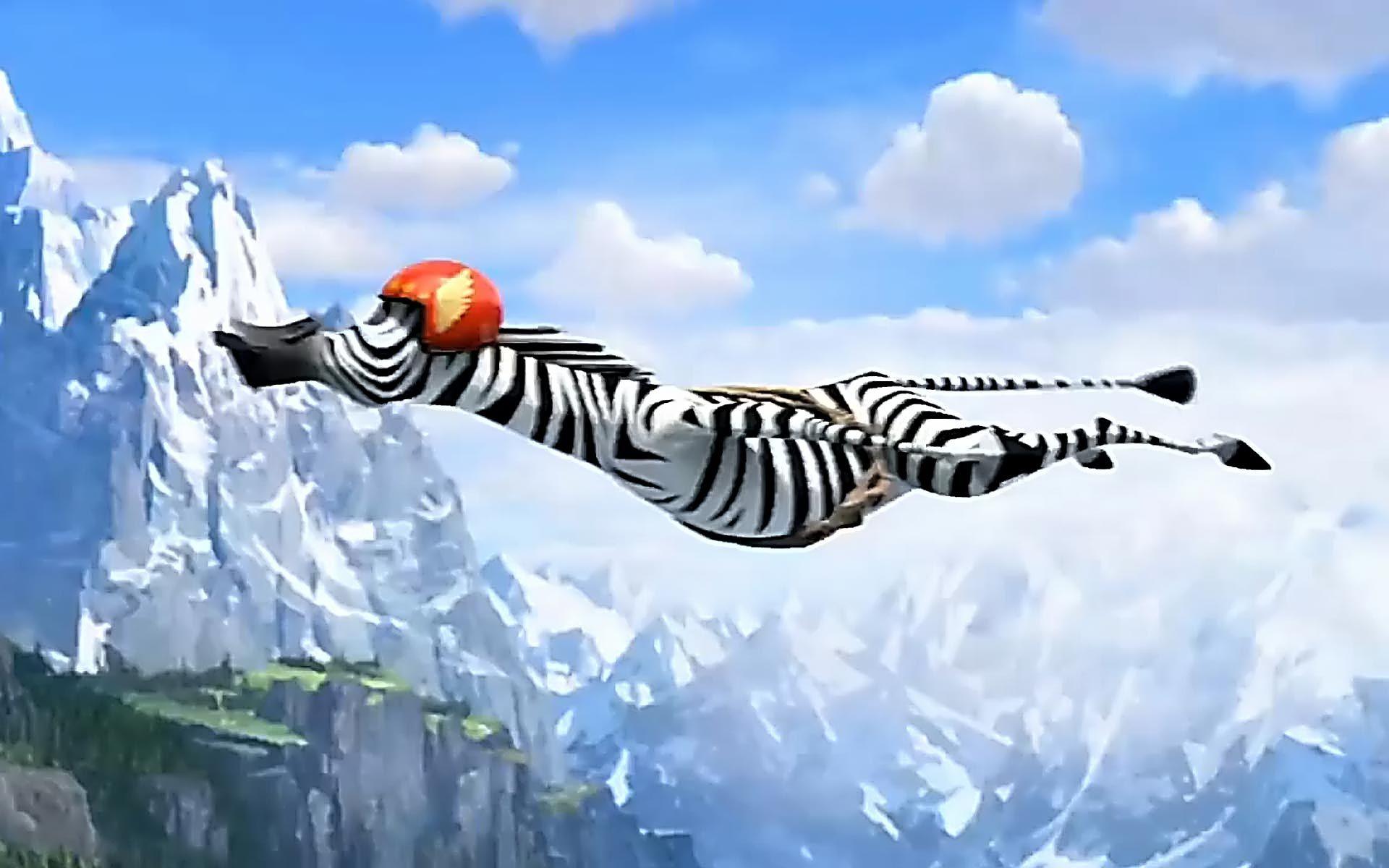 Madagascar 3 flying zebras downloads backgrounds