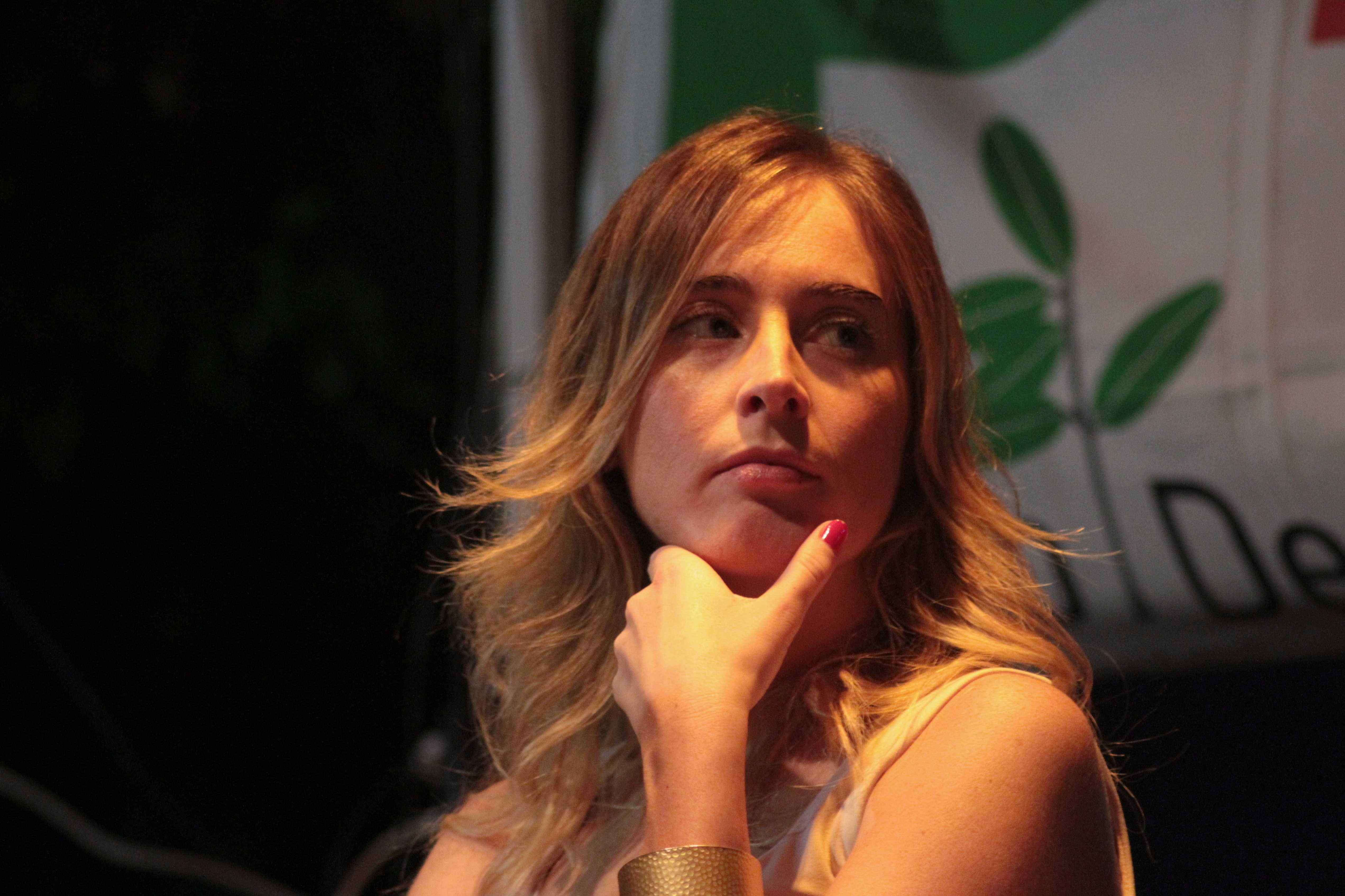 Maria Elena Boschi Ministro per le Riforme Costituzionali del governo Renzi