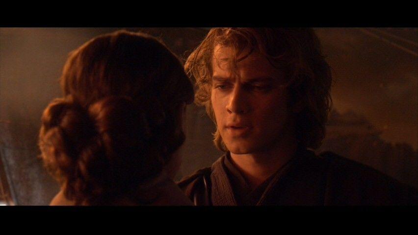 Star Wars Episode Iii Anakin Padme Screencap Star Wars Awesome Skywalker Star Wars