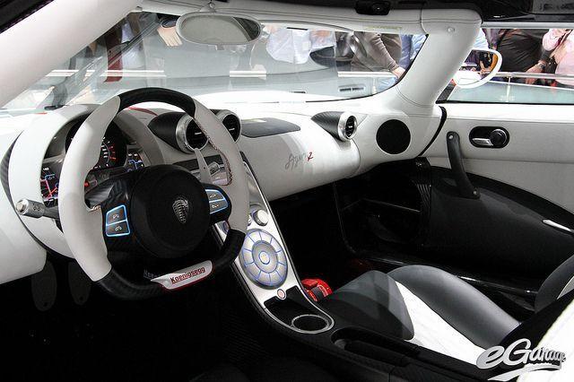 Koenigsegg Agera R Interior #koenigseggagerarinterior