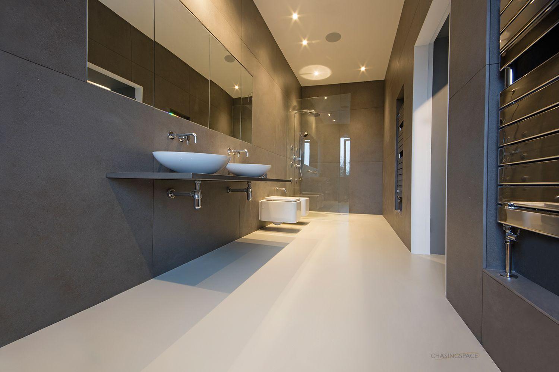 Chasingspace Seamless Resin Floors And Polished Concrete Walls Polished Concrete Concrete Wall Stylish Flooring