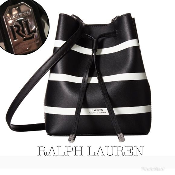 2018 Ralph Lauren•Dryden Debby Drawstring Tote 👜 Like New• Made of leather  and 1d3db4a9af86d
