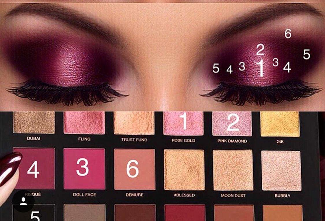 Photo of Huda Beauty Rose Gold Palette Eyemakeupgold Eye Makeup Gold In