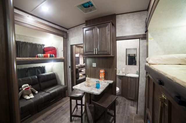 2017 Open Range 3x 427bhs Bunkhouse Fifth Wheel The Open