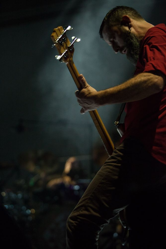 justin chancellor playing bass live in tool concert | Tool