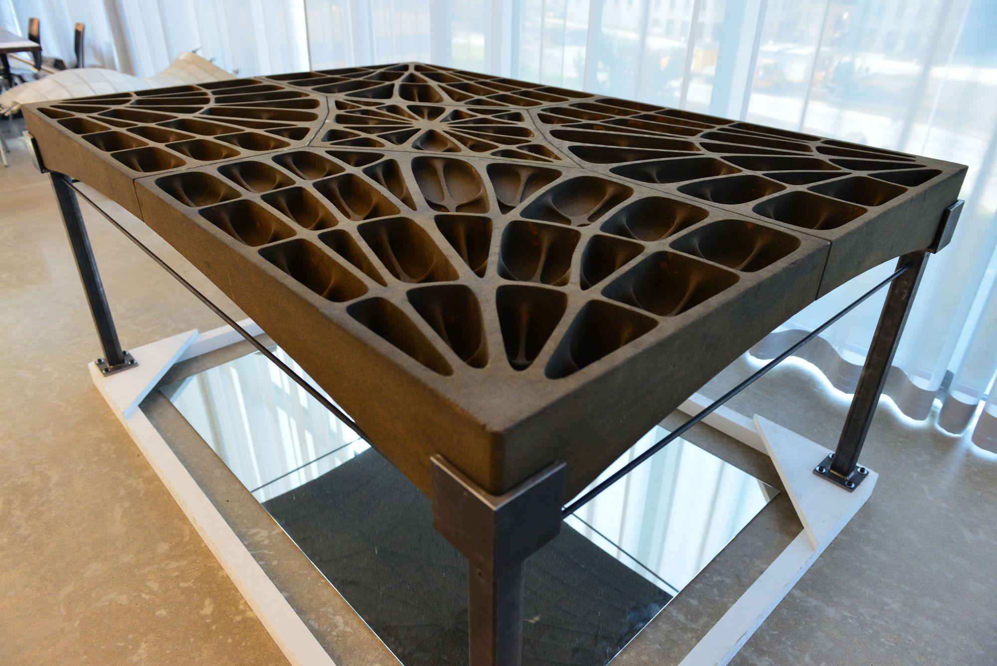 Gothic Construction Techniques Inspire Eth Zurich S Lightweight Concrete Floor Slabs Concrete Floors Floor Slab Concrete Slab