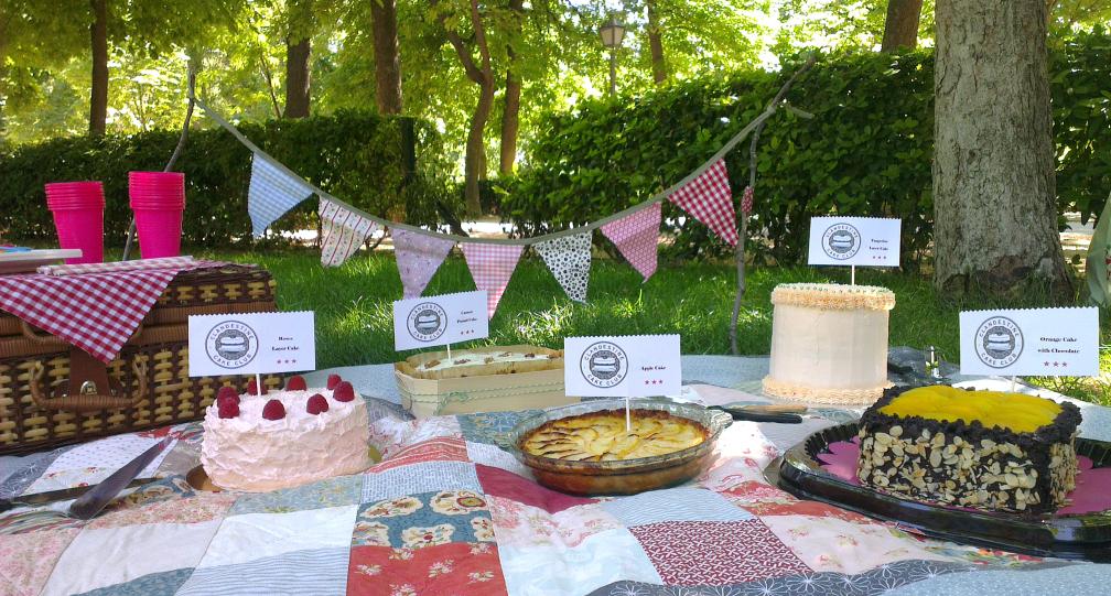 ♥ Segunda reunión del Clandestine Cake Club en Madrid