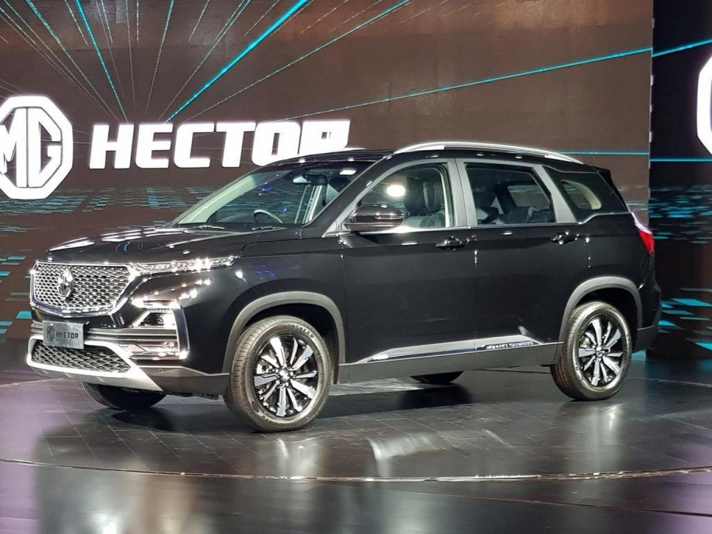 Mg Hector Unveiled India S First Internet Car Gets 19 Exclusive