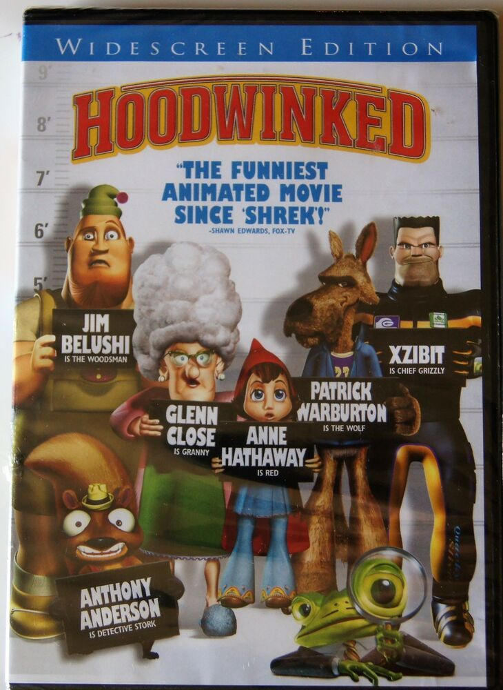 Hoodwinked (DVD, 2006, Widescreen Version) Jim Belushi