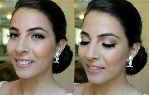 a soft natural pink bridal makeup  bridal makeup wedding