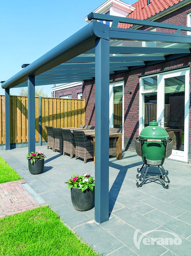 Aluminium #terrasoverkappingen: #onderhoudsvriendelijk en dé aanwinst voor uw tuin! #verano #veranda