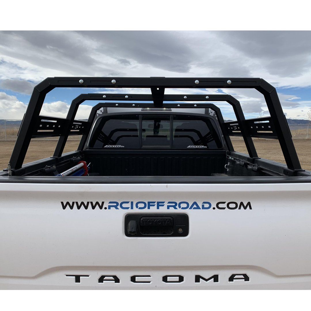 Rci Cab Height Adjustable Bed Rack For 2005 2020 Toyota Tacoma In 2020 Toyota Tacoma Toyota Tacoma Roof Rack Tacoma