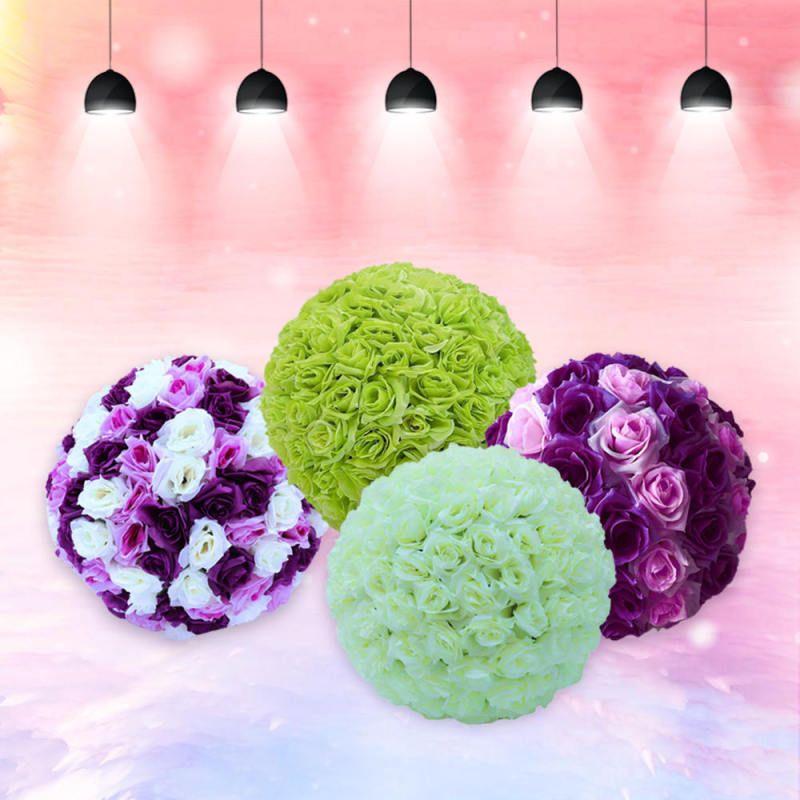 10x Foam Roses Head Artificial Flower Bride Bouquet Party Home Decor Your PICK
