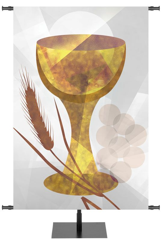 Communion Symbol Banner Liturgical Art Environment Pinterest