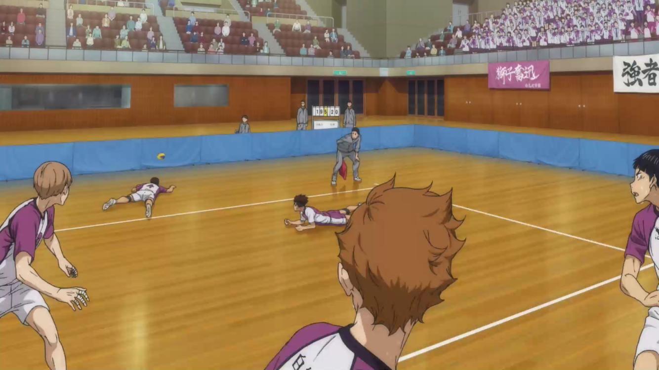 Himata Kageyama Haikyuu Volley Sawamura Sugawara Azumane Victory Volley Basketball Court Haikyuu