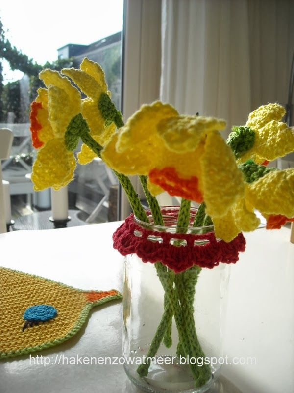 Gratis Patronen Haakpatroon Narcissen Crochet Gratis