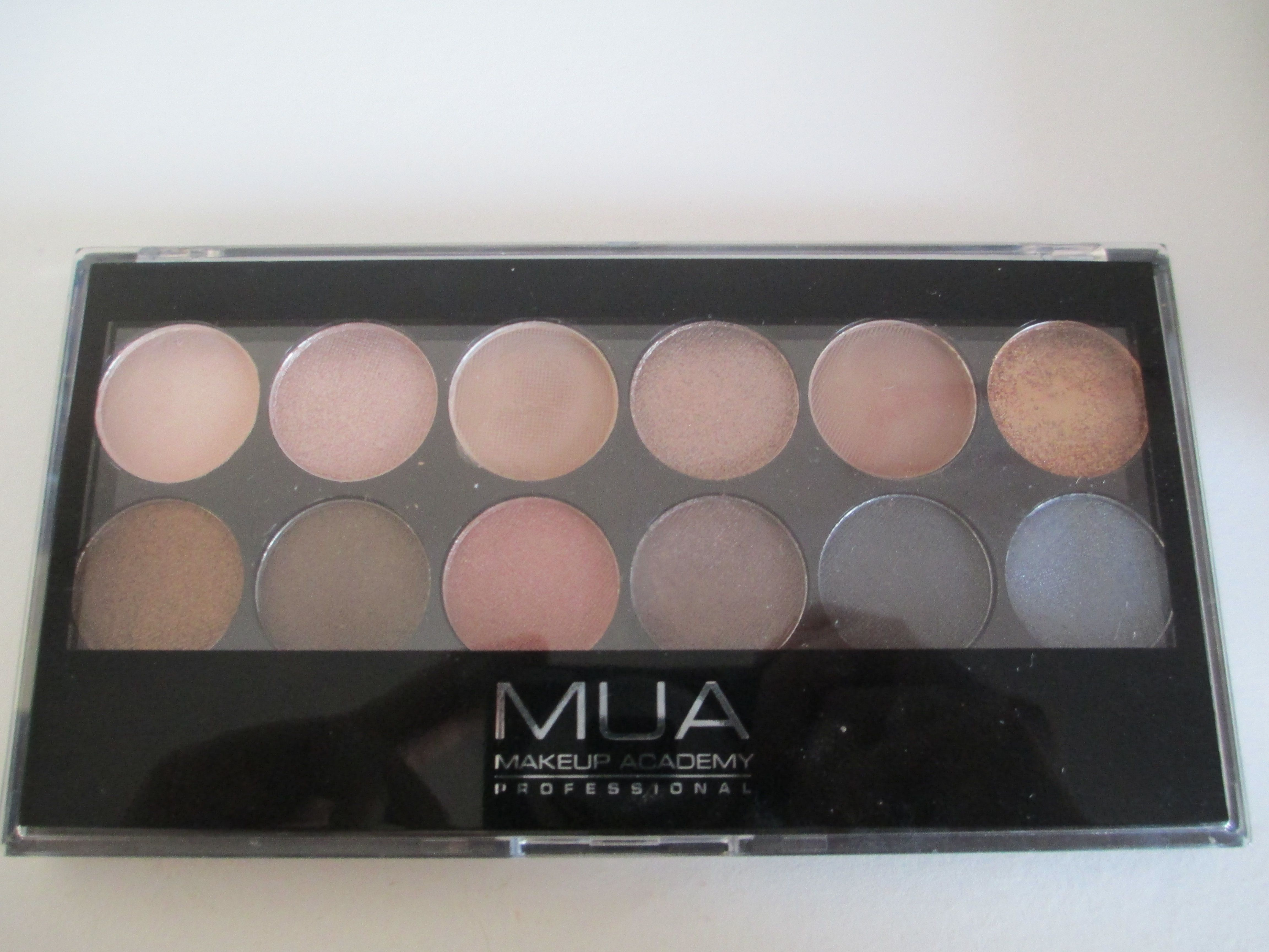 MUA Undressed palette review (With images) Mua makeup