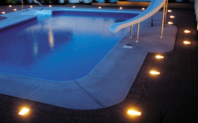 Cool Pool Deck Lights With Images